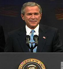 Bush the winner