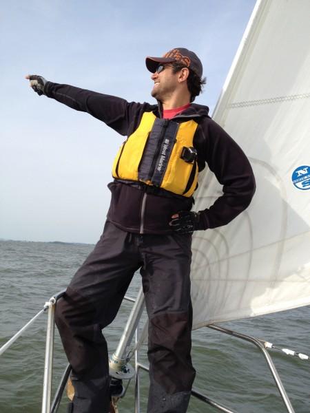 Gabriel Sailing